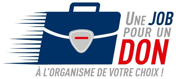 Une job pour un don - Logo